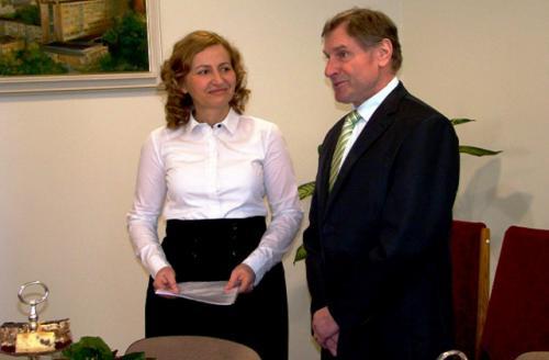 Galeria Kwitnąca współpraca z Czechami