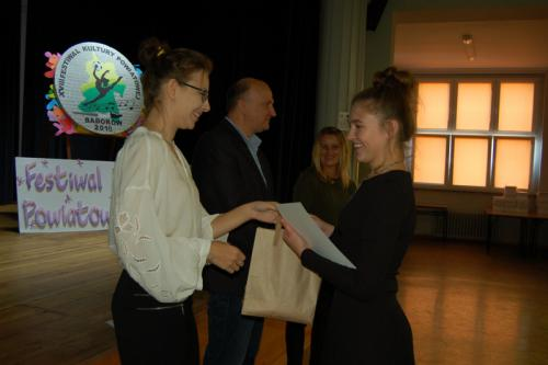 Galeria XVIII Festiwal Kultury Powiatowej - Konkurs recytatorski - Szkoła ponadpodstawowa i dorosli 10.10.2018 r.
